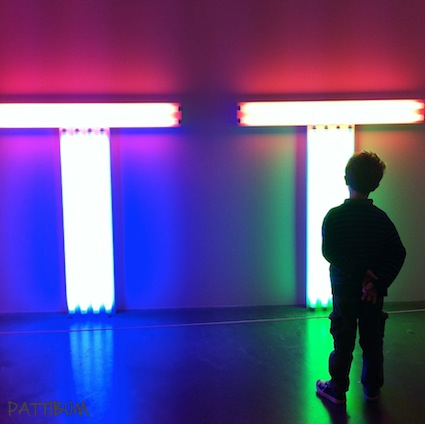 London, Tate Modern, Dan Flavin